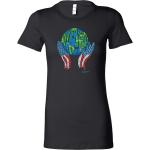Diversity Rocks Bella Women's Shirt