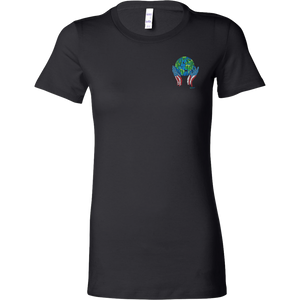 Diversity Rocks Bella Women's Tee with Chest Emblem
