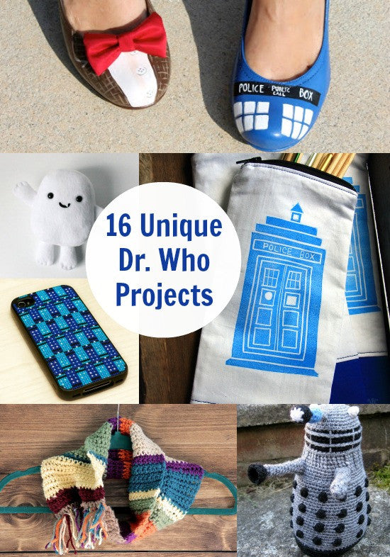 This Weeks Geek DIY Round Up! - Doctor Who?