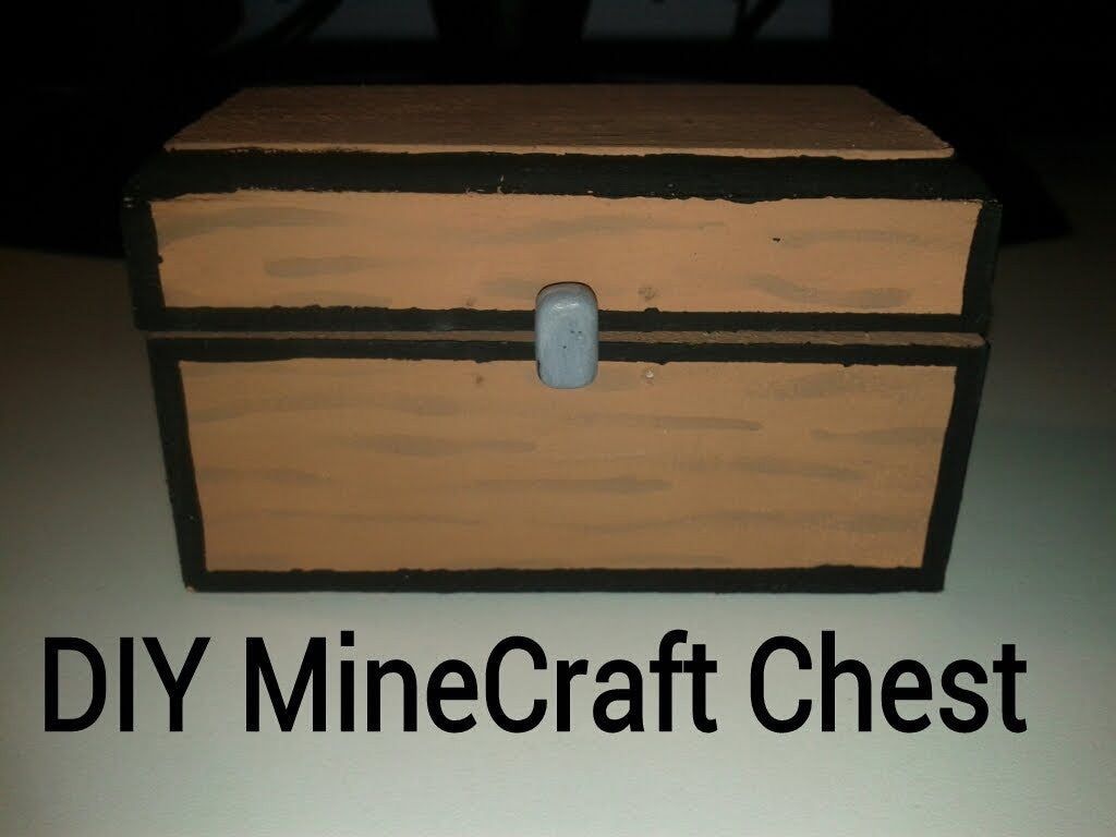 Minecrafting: DIY Mini Double Chest