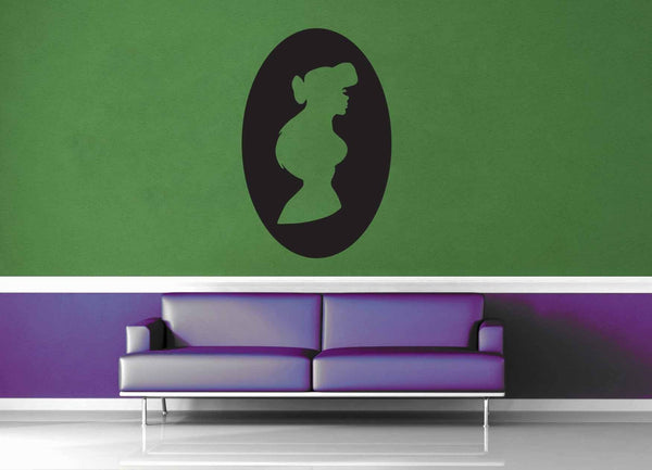 Ariel Cameo - Wall Decal - geekerymade