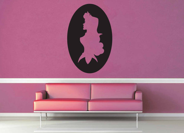 Aurora Cameo - Wall Decal