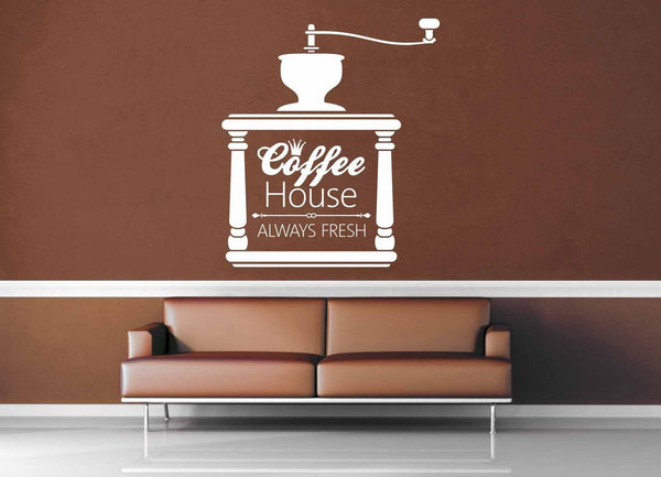 Always Fresh - Vintage Café Sign - Wall Decal - No 1 - geekerymade