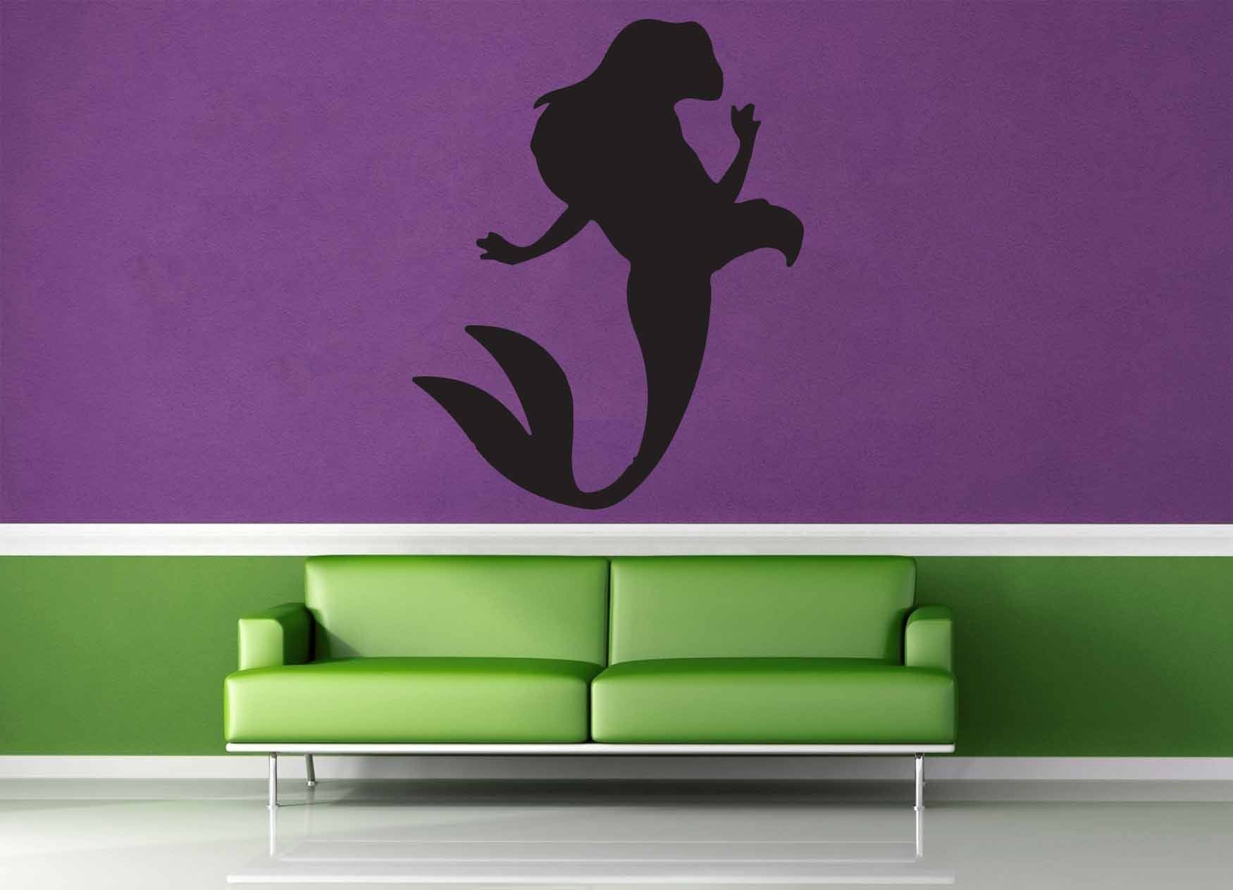 Mermaid Silhouette - Wall Decal - No 2