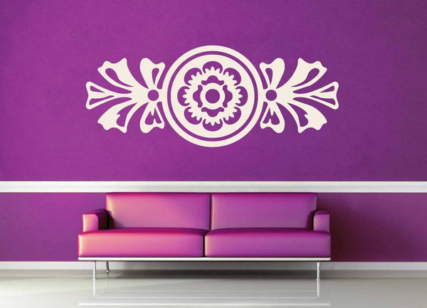 Art Deco Flower - Wall Decal - geekerymade