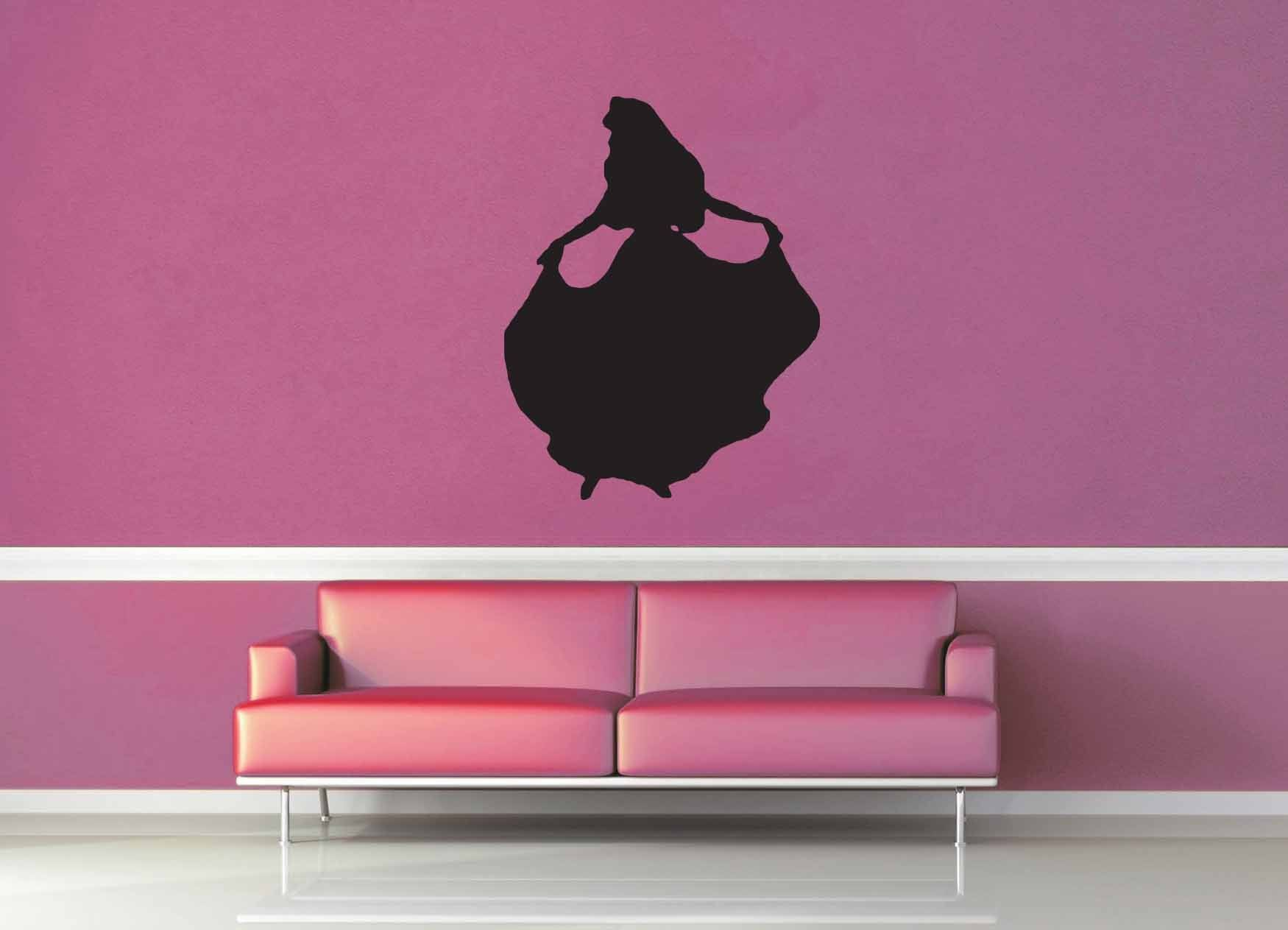 Aurora Silhouette - Wall Decal - No 2