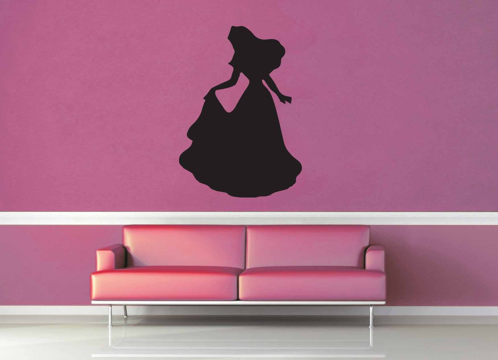 Aurora Silhouette - Wall Decal - No 3
