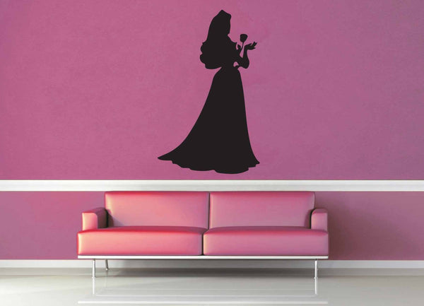 Aurora Silhouette - Wall Decal - No 4