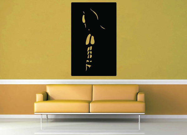 Batman Silhouette - Wall Decal - No 1 - geekerymade