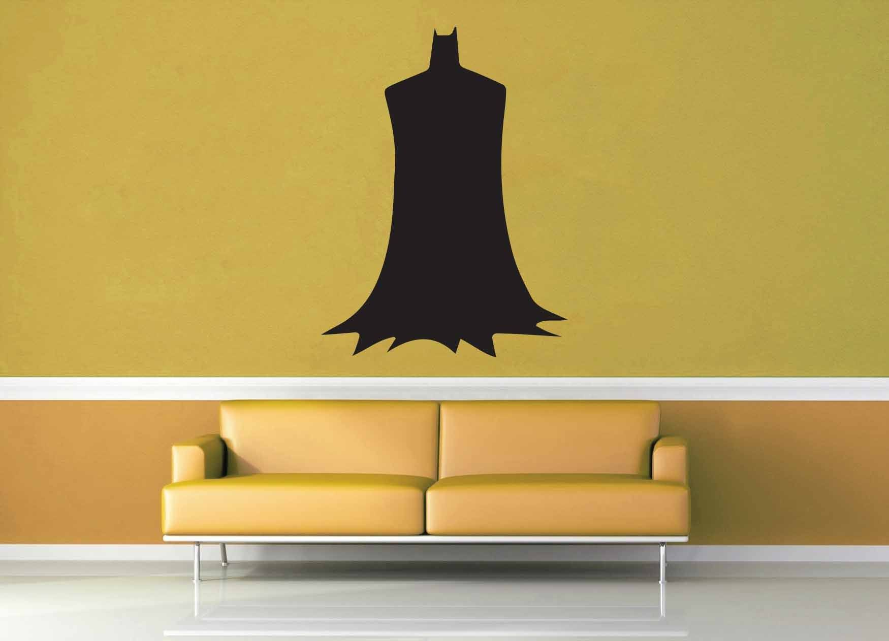 Batman Silhouette - Wall Decal - No 2