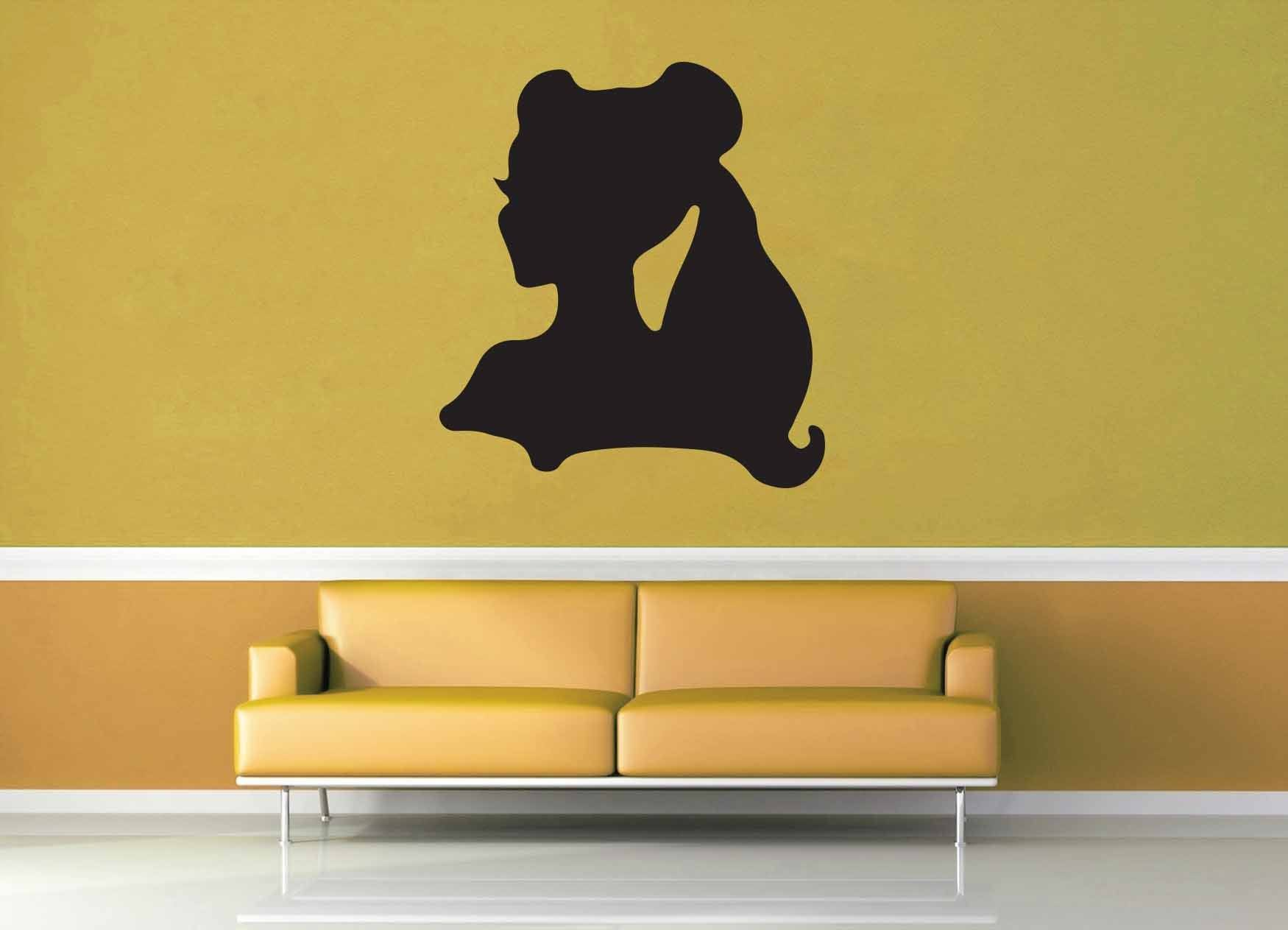 Belle Silhouette - Wall Decal - No 1