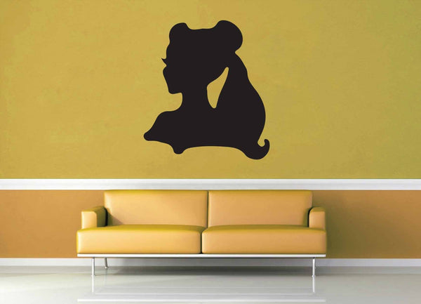 Belle Silhouette - Wall Decal - No 1 - geekerymade