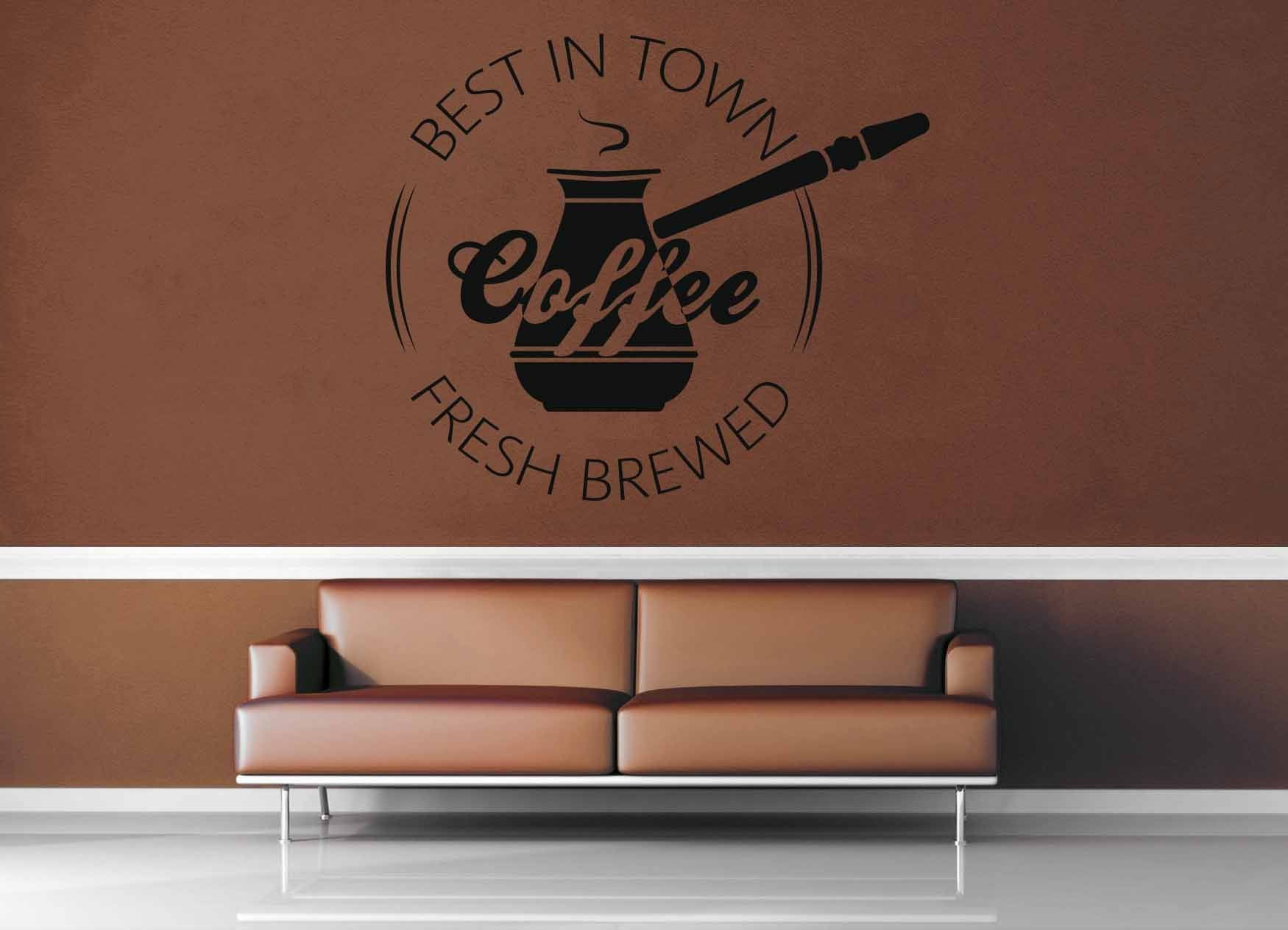 Best Flavor - Vintage Café Sign - Wall Decal - No 2