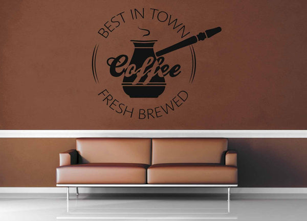 Best Flavor - Vintage Café Sign - Wall Decal - No 2 - geekerymade
