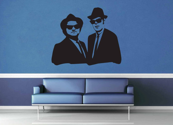 Blues Brothers Silhouette - Wall Decal - No 1 - geekerymade