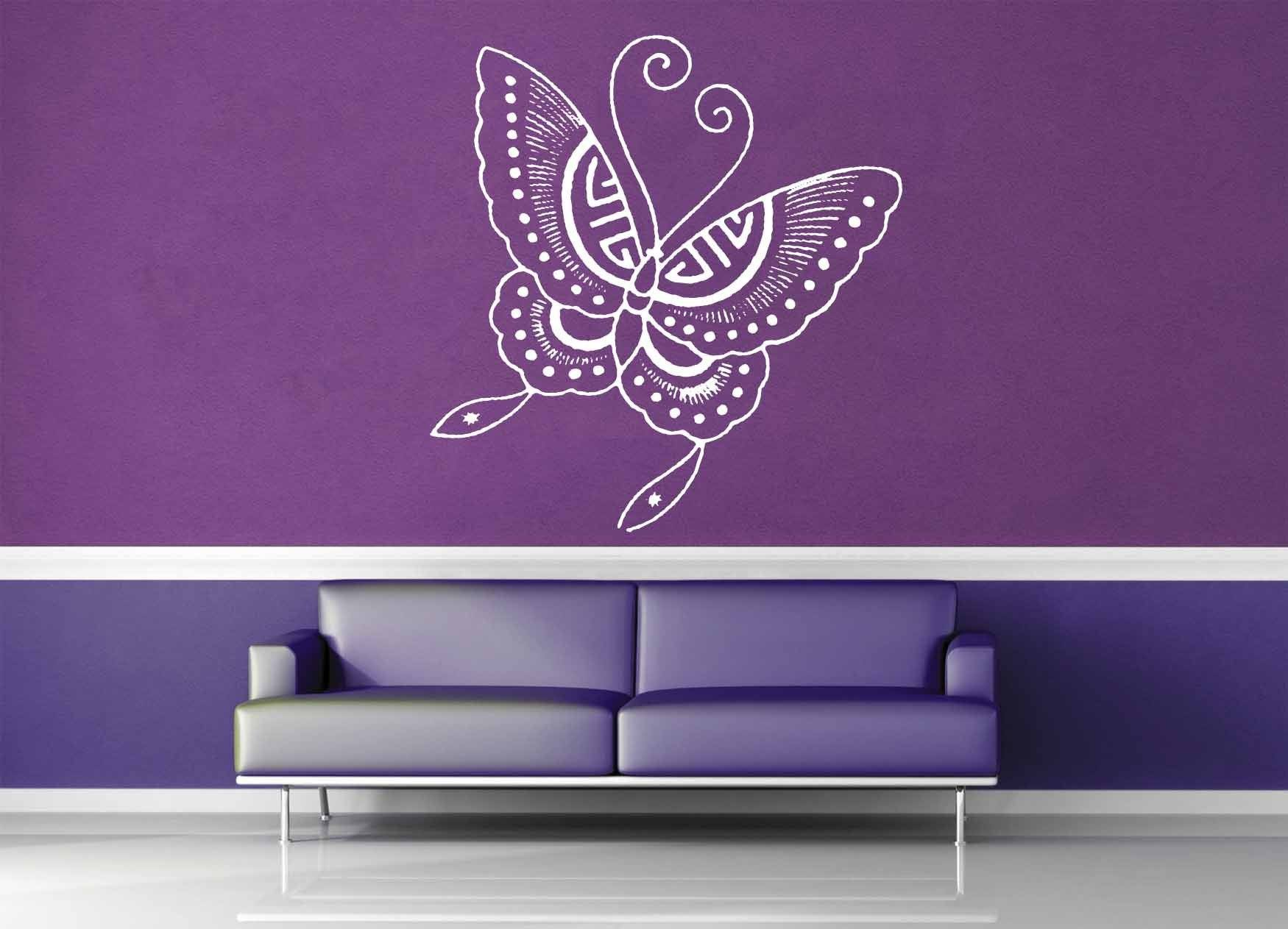 Butterfly - Wall Decal - No 2