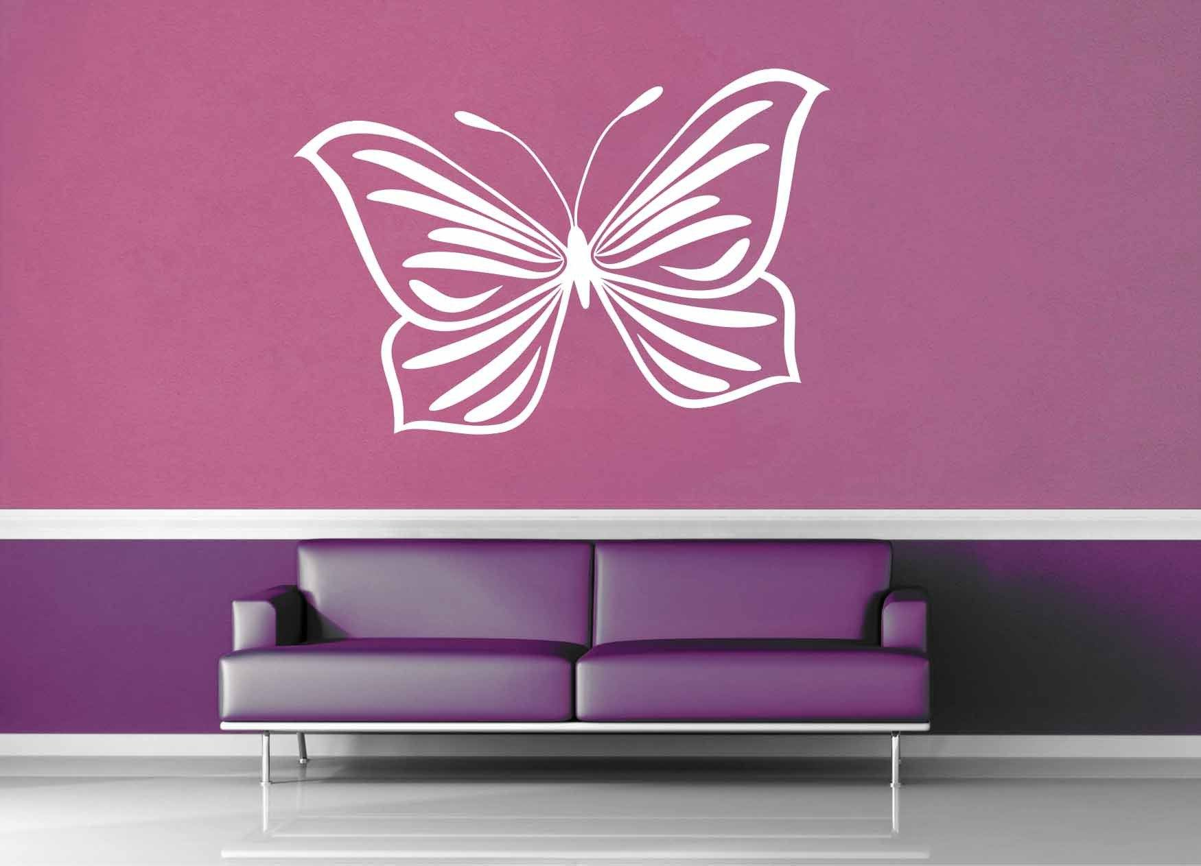 Butterfly - Wall Decal - No 4