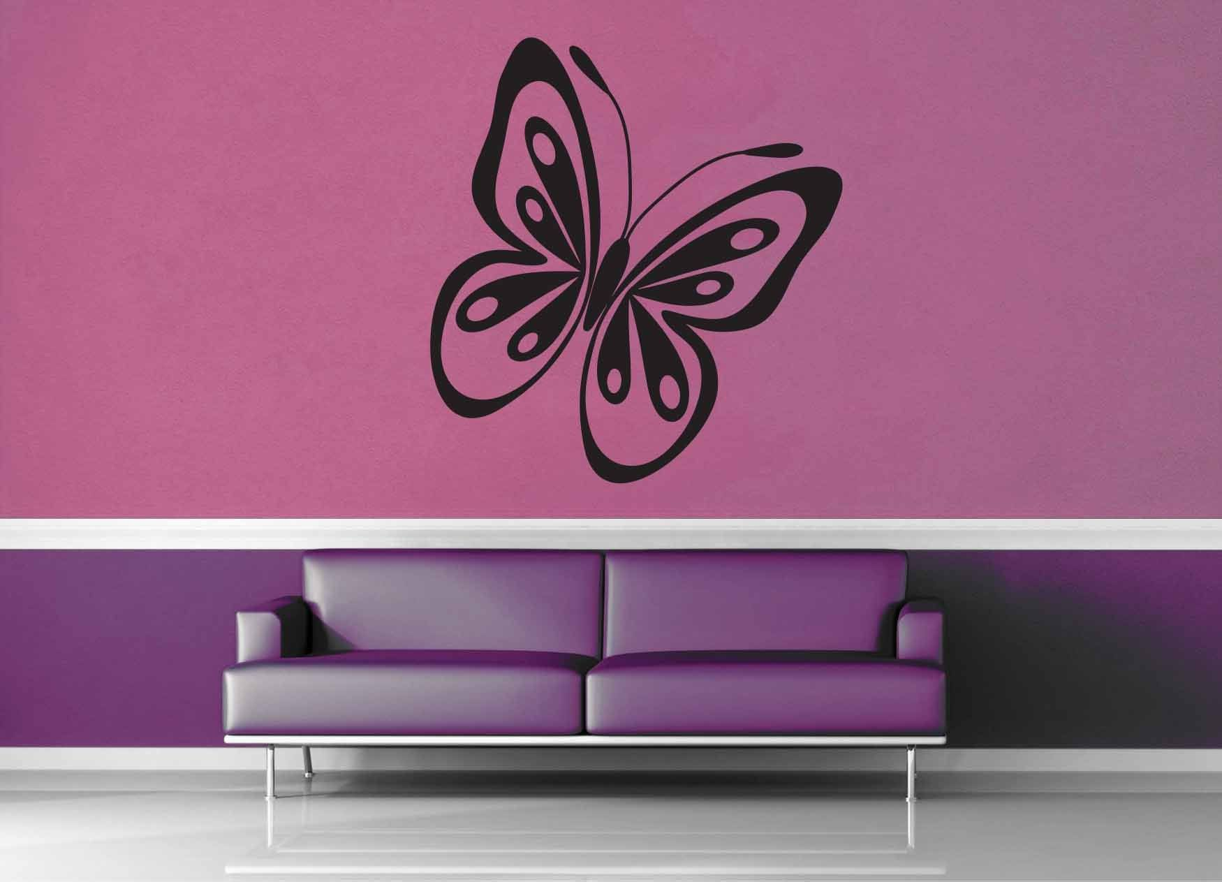 Butterfly - Wall Decal - No 5 - geekerymade