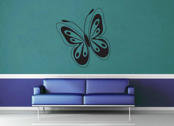 Butterfly - Wall Decal - No 6