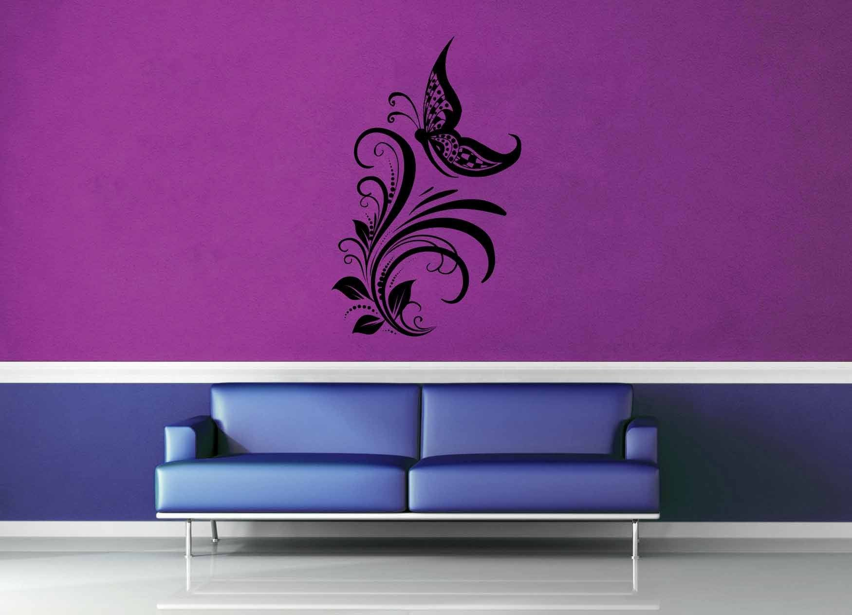 Butterfly - Wall Decal - No 7 - geekerymade