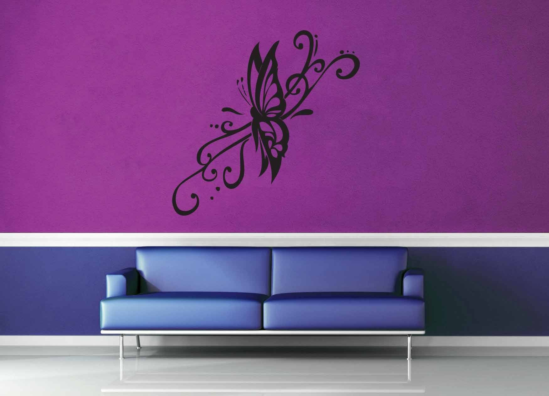 Butterfly - Wall Decal - No 8