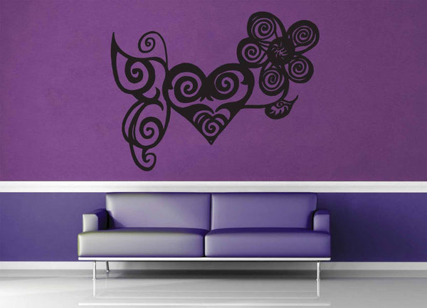 Butterfly - Wall Decal - No 1