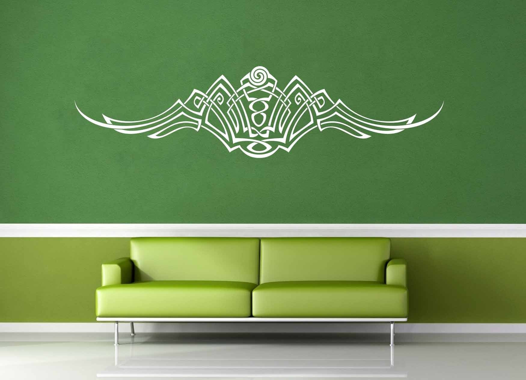 Flourish Accent - Celtic Knot - Wall Decal - No 1