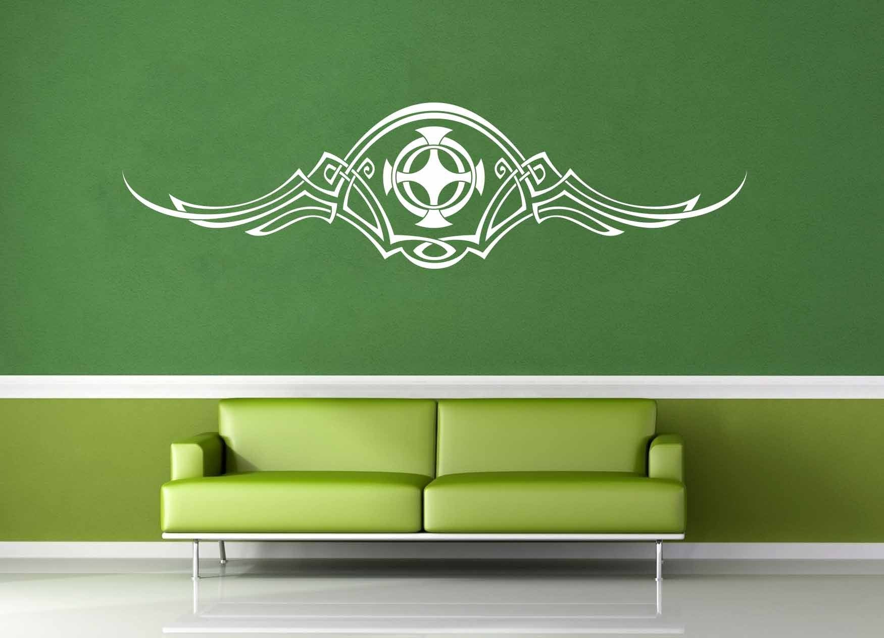 Flourish Accent - Celtic Knot - Wall Decal - No 2
