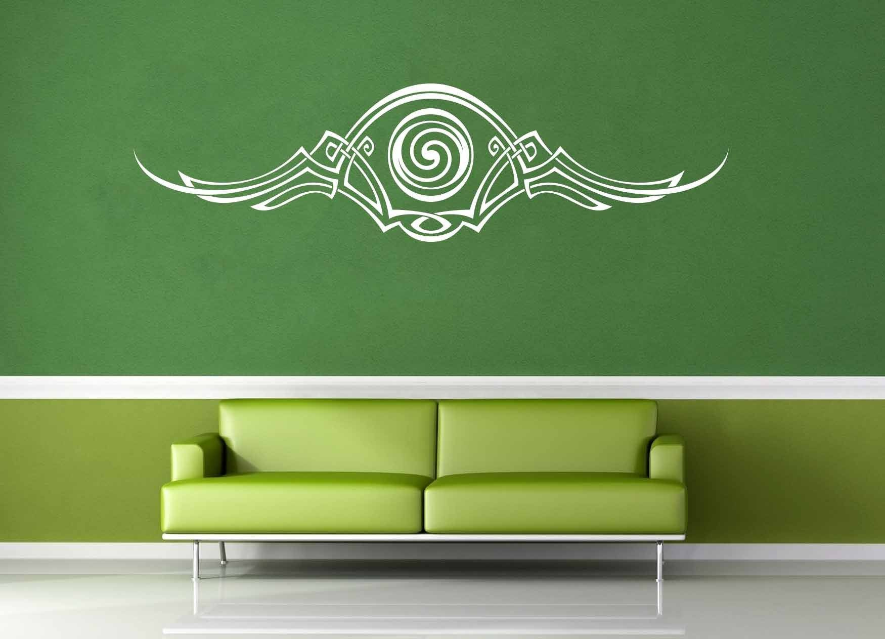 Flourish Accent - Celtic Knot - Wall Decal - No 3