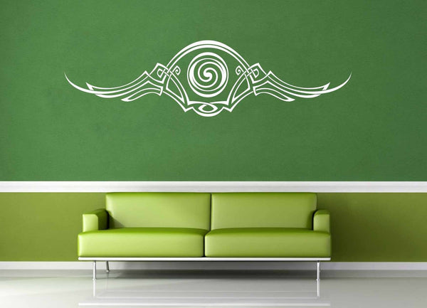 Flourish Accent - Celtic Knot - Wall Decal - No 3 - geekerymade