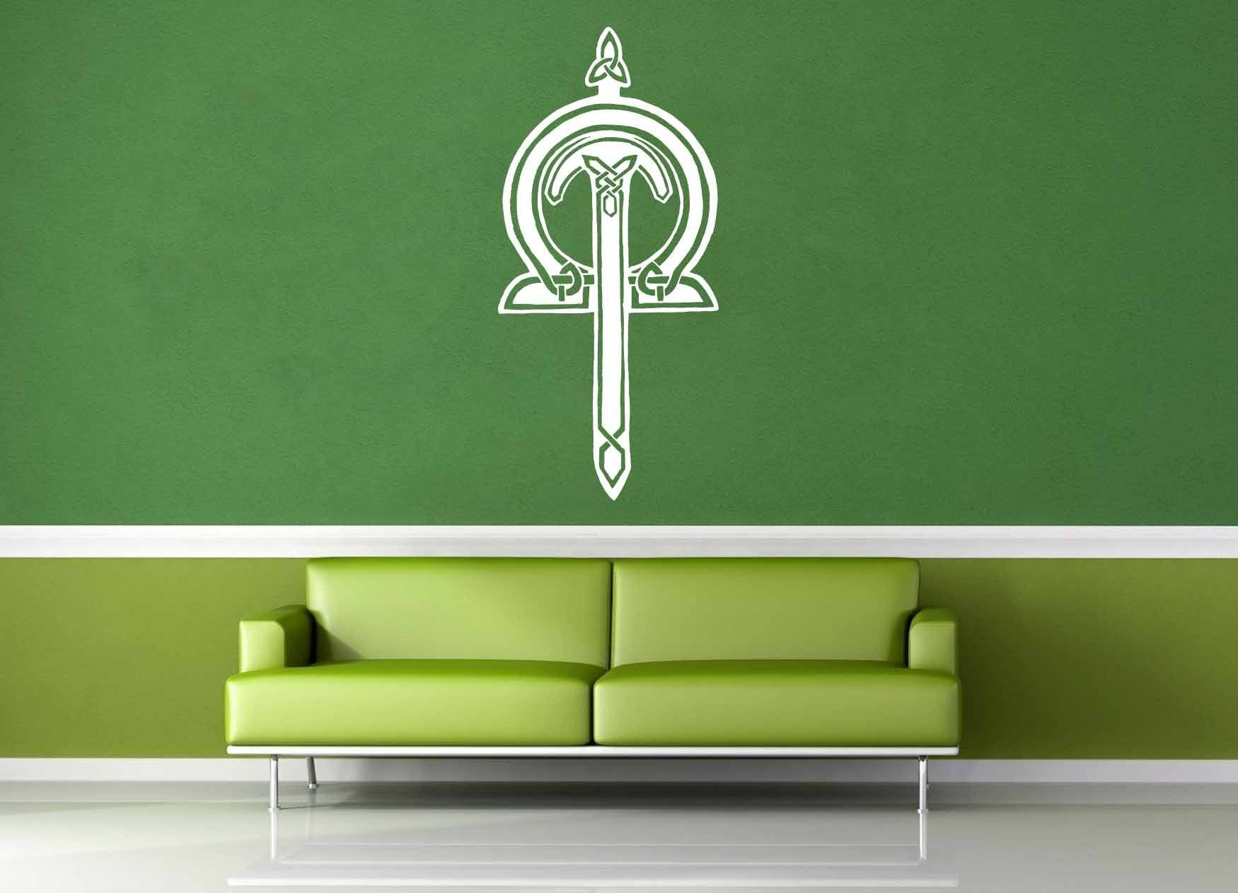 Sword - Celtic Knot - Wall Decal