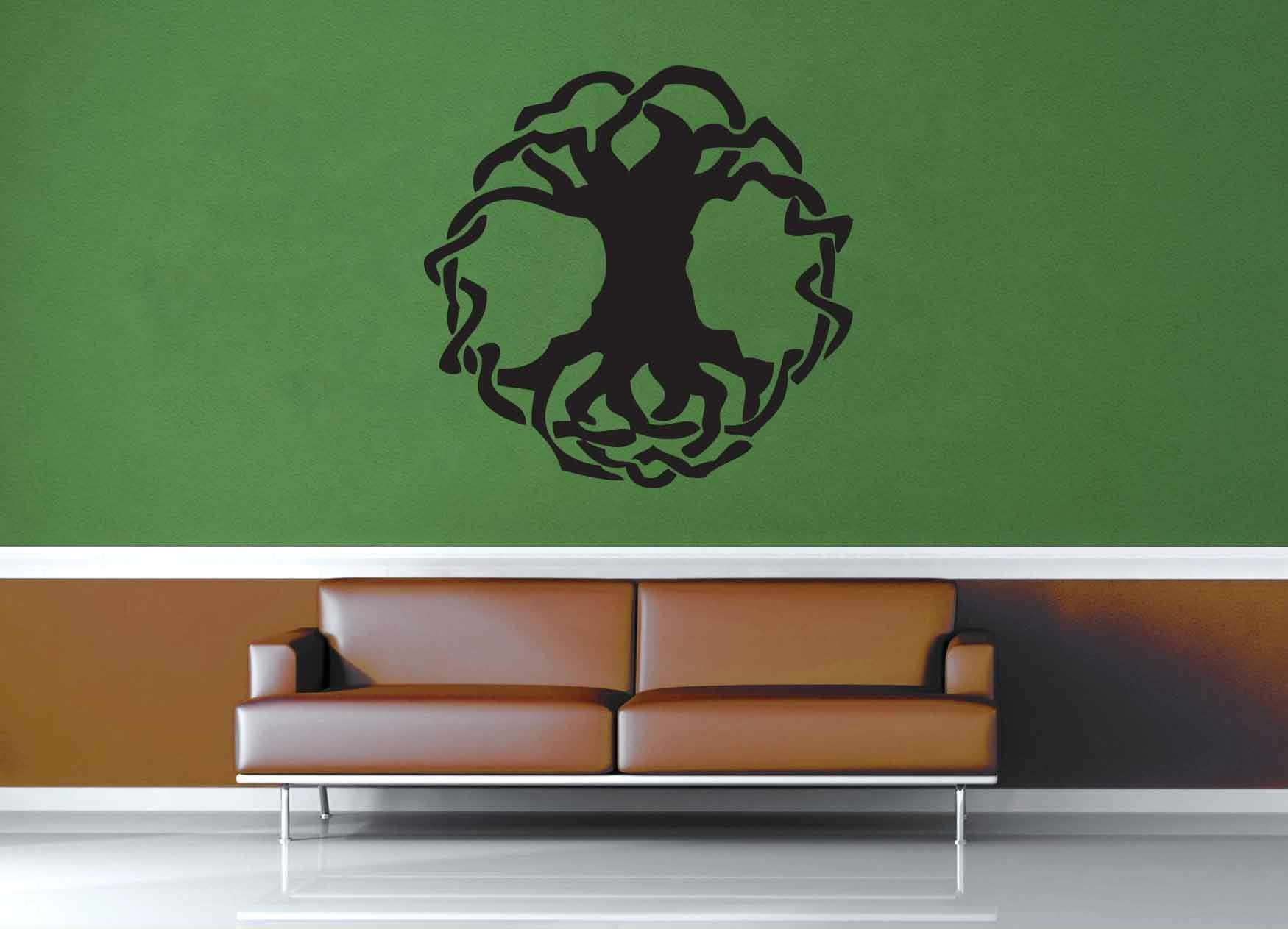 Tree of Life - Celtic Knot - Wall Decal - No 1