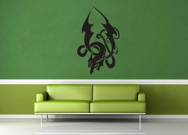 Dragon - Celtic Knot - Wall Decal - No 1 - geekerymade