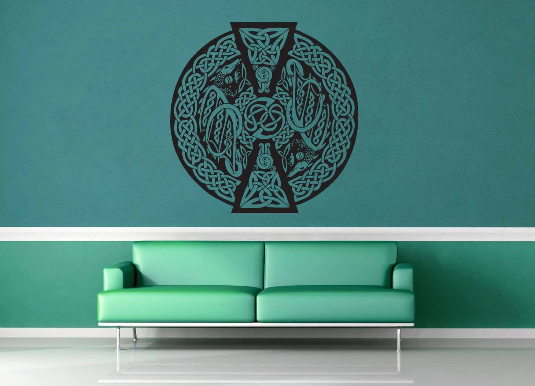 Dragon - Celtic Knot - Wall Decal - No 2