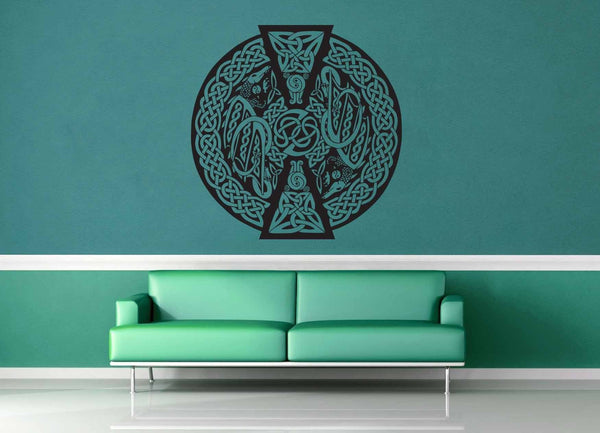 Dragon - Celtic Knot - Wall Decal - No 2 - geekerymade
