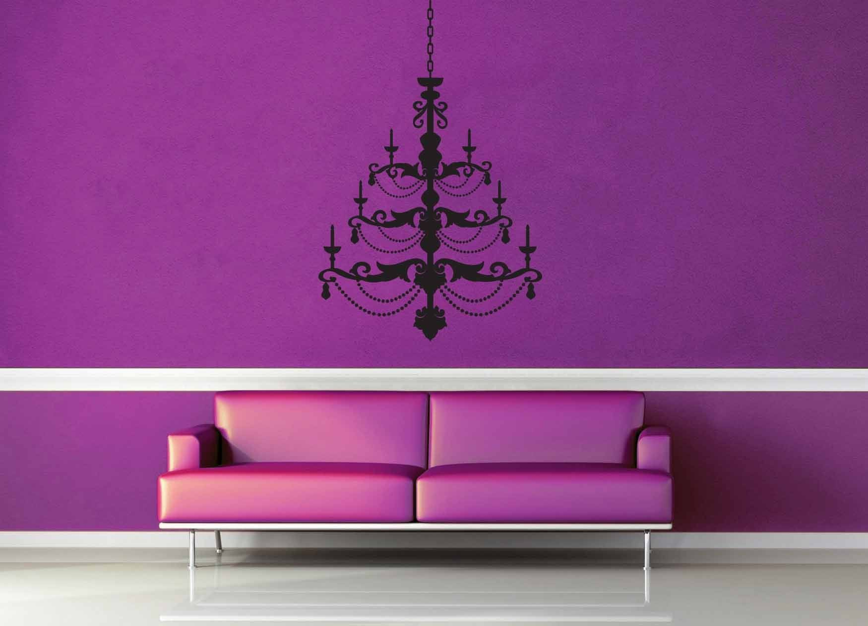 Chandelier - Wall Decal - No 1