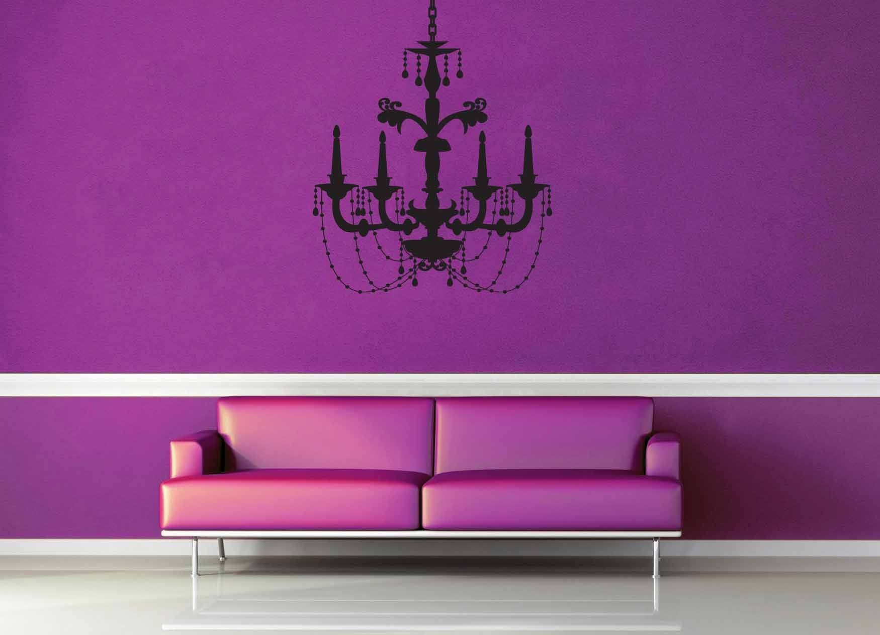 Chandelier - Wall Decal - No 4