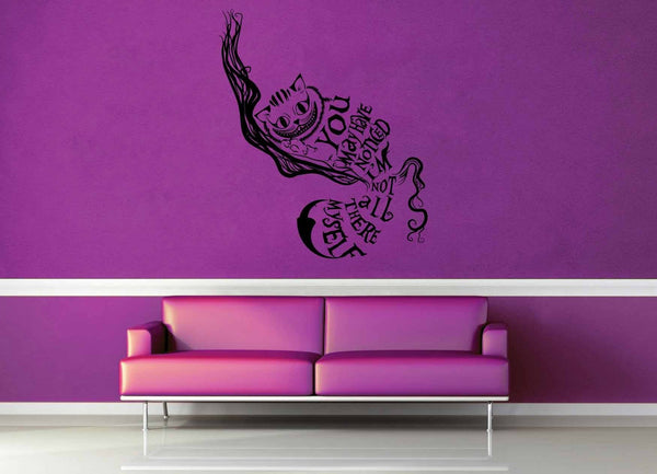 Chesire Cat - Alice in Wonderland - Wall Decal