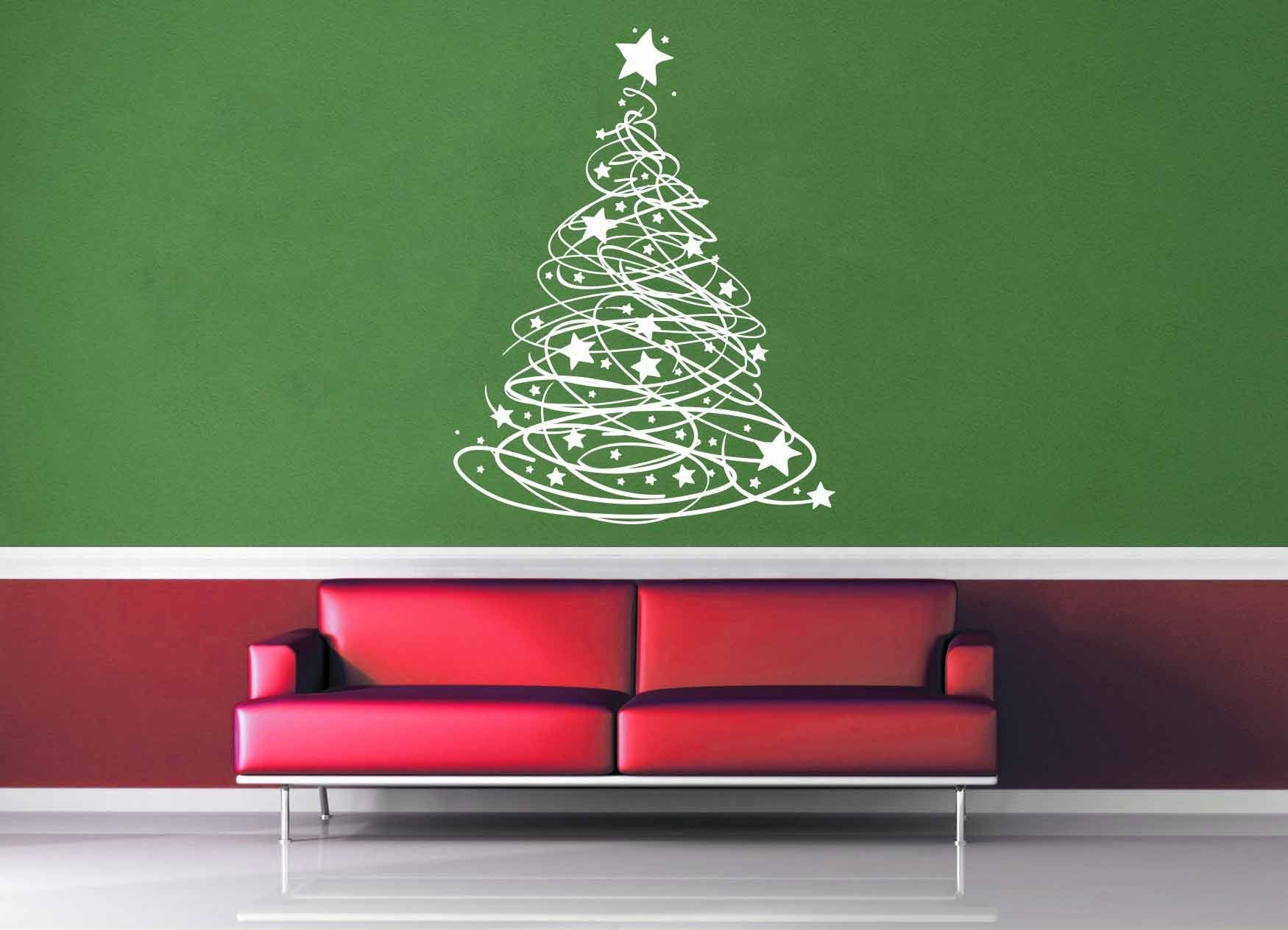 Starry - Christmas Tree - Wall Decal