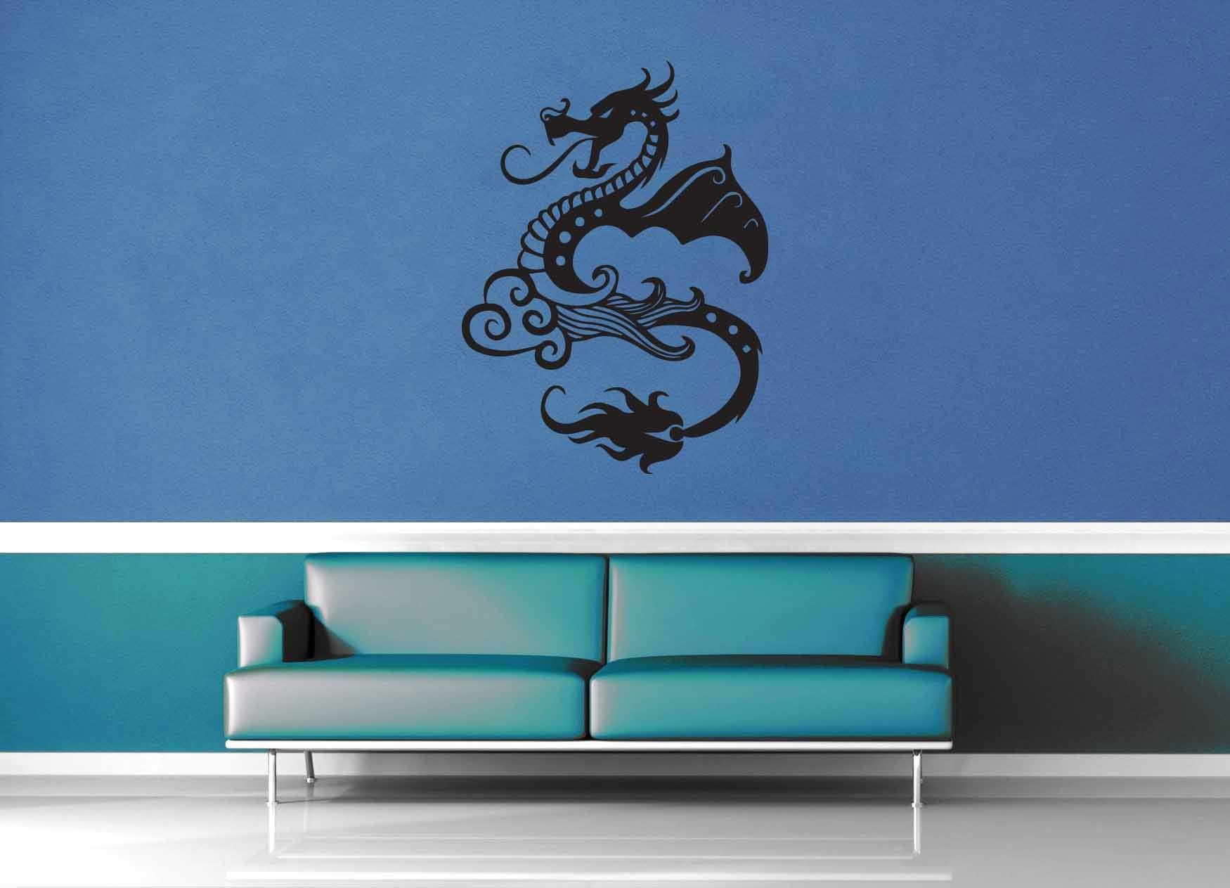 Dragon - Wall Decal - No 3