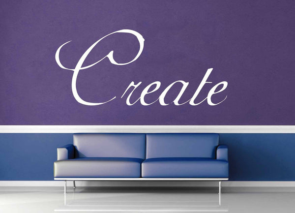 Create - Wall Decal - geekerymade