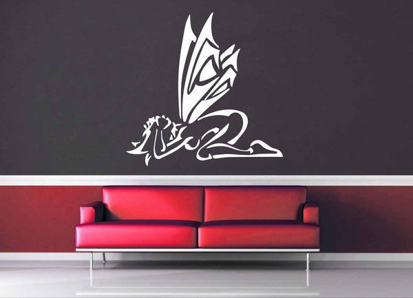 Cringing Fairy - Wall Decal