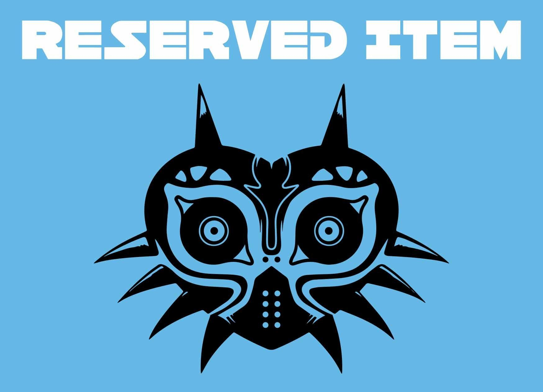 Reserved Item - Crowsmack - Majora's Mask