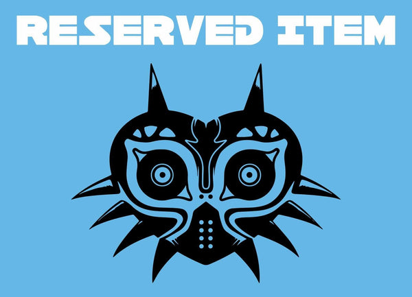 Reserved Item - Crowsmack - Majora's Mask - geekerymade