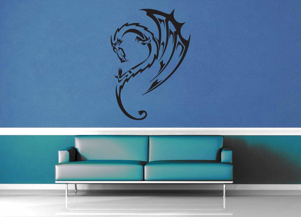 Dragon - Wall Decal - No 4 - geekerymade