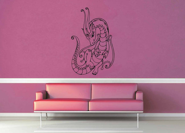 Dragon - Wall Decal - No 5 - geekerymade