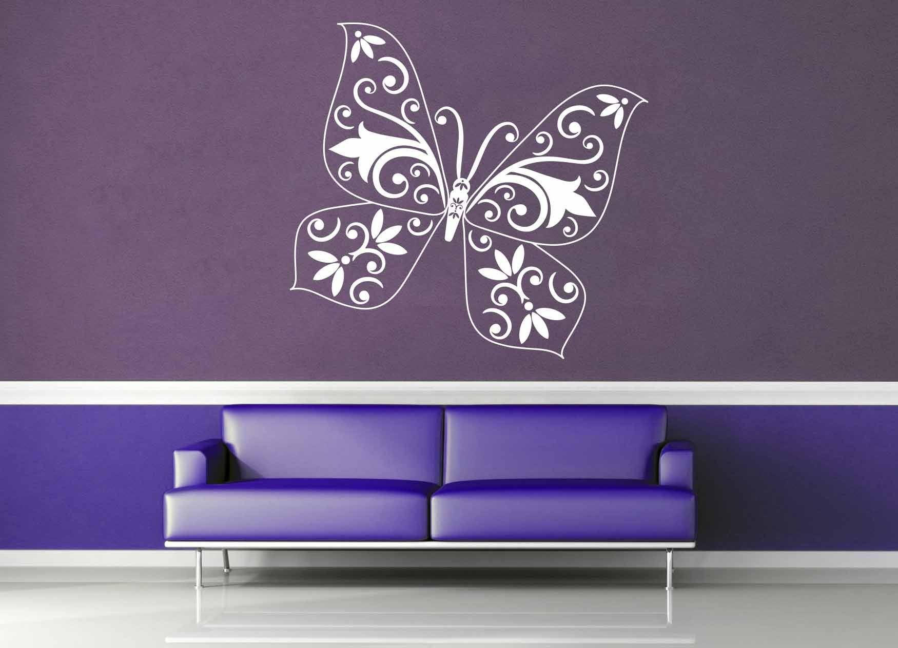 Butterfly - Wall Decal - No 9
