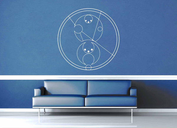 Bad Wolf - Gallifreyan - Doctor Who - Wall Decal - geekerymade