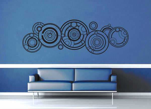 Doctor's Name - Gallifreyan - Doctor Who Quote - Wall Decal - geekerymade