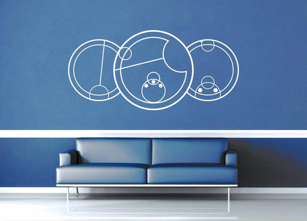 I Love You - Gallifreyan - Doctor Who Quote - Wall Decal - geekerymade